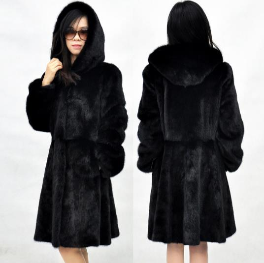 Faux Taille Chaud Nouveau Outwear Femmes D'hiver 2018 De Artificielle Furry Veste Plus Z315 Femme Manteau La Fourrure WqqIFgr