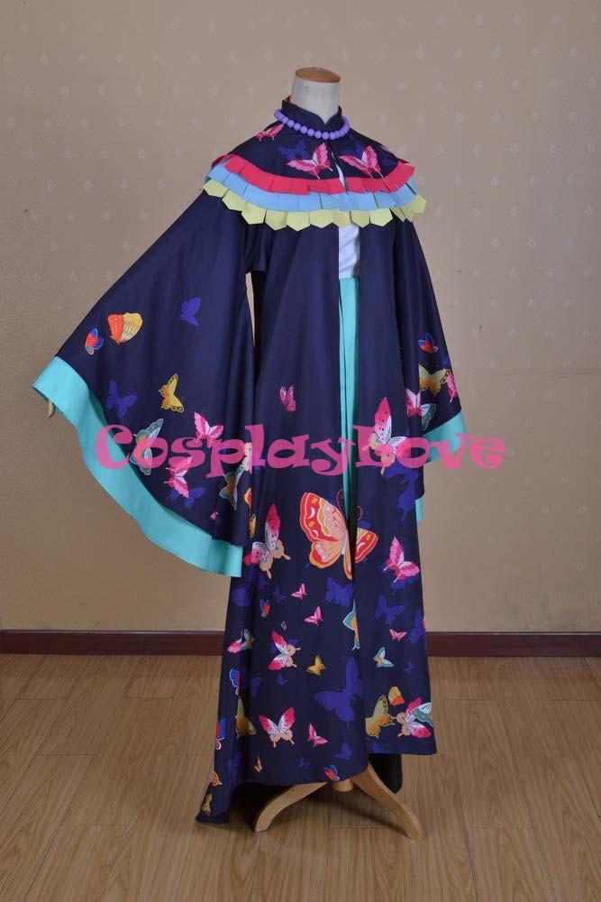 Kamisama Love Hajimemashita Nanami Momozono Kimono Cosplay Costume (8)