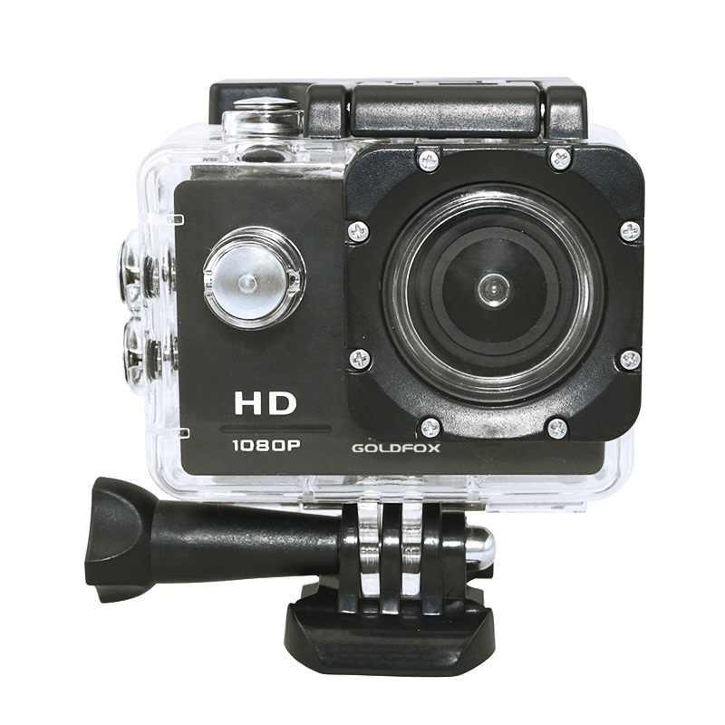 2,0 ''экран видеокамера HD 1080 P Спорт Экшн камера 30 м Go Дайвинг Pro спортивные, водонепроницаемые, уличные DV велосипедный шлем камера DVR