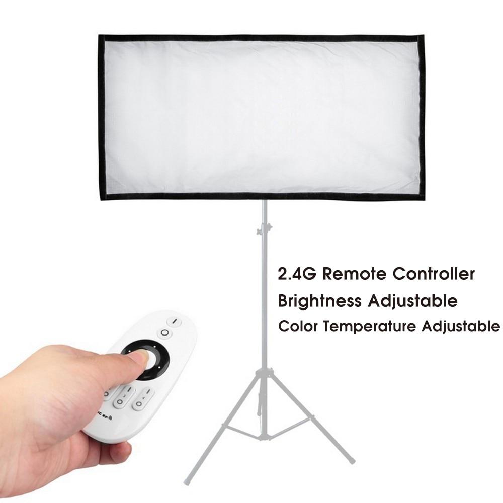 Travor Flexible led video light Bi-Color FL-3060A tamaño 30 * 60CM - Cámara y foto - foto 2