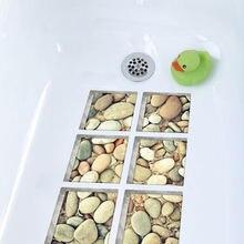 Нескользящая водостойкая 3d наклейка для ванны funlife самоклеящаяся