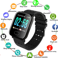 Big Color Screen Fitness Bracelet Heart Rate Activity Tracker Smart Wristband Watch Spo2 Blood Pressure for Android IOS Phone