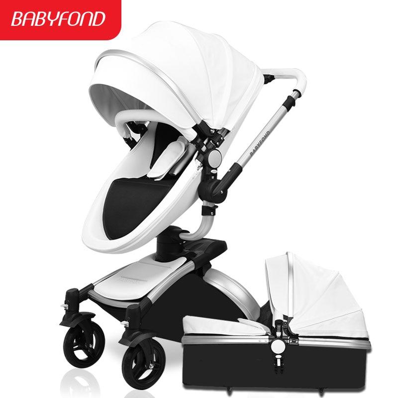 Baby stroller aiqi child car light folding shock absorbers baby stroller bb car 2 in 1 baby stroller baby sleeping basket newbor