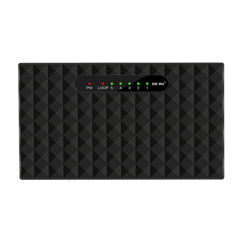 Image 5 - Network Switchs 5 Port Gigabit Desktop Switch 10/100/1000Mbps Fast Ethernet Network Switch LAN Full/Half duplex Exchange-in Network Switches from Computer & Office