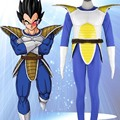 Dragon Ball Z Costumes Vegeta Cosplay Blue Mens Costumes