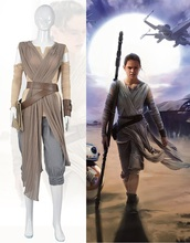2016 New Star Wars Cosplay Costume The Force Awakens Rey Cosplay Adult Costumes for Halloween Carnival Costumes for Women kids cosplay star wars the force awakens imperial stormtrooper role playing costumes uniforms performance performance clothing