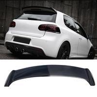 Golf 6 for GTI r20 OSIR Styling Carbon Fiber Rear Roof Lip Spoiler Wing for Volkswagen for vw golf 6 for gti r20 2010 2014