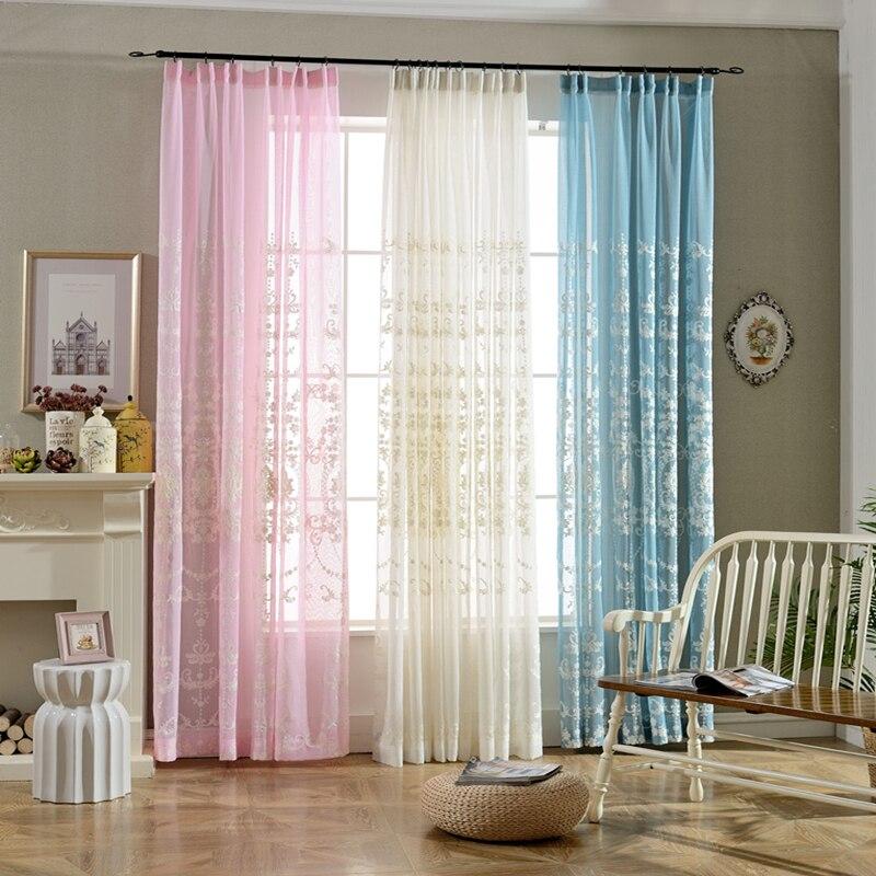 online kaufen großhandel garten gardinen aus china garten gardinen ... - Vorhange Wohnzimmer Weis