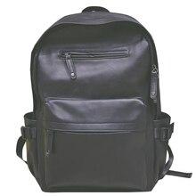 Новинка 2017 простой кожаный мешок, ветер прилив и студенток дорожная сумка компьютер мешок