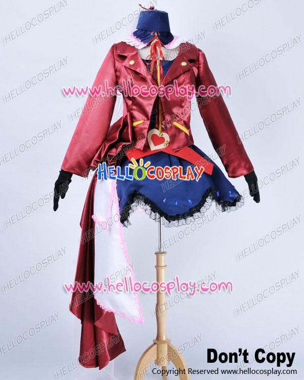 Macross Frontier Cosplay Sheryl Nome Dress Costume H008