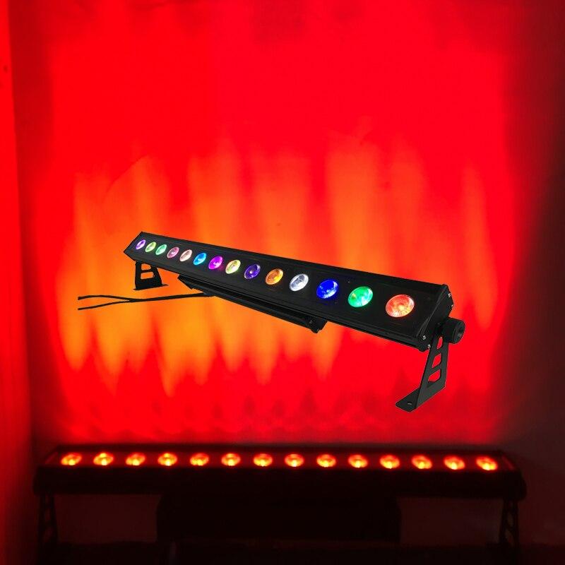4X много IP65 Водонепроницаемый 14*30 Вт УДАРА СВЕТОДИОДНЫЙ прожекторы свет DMX светодиодный стены световой эффект DJ этап освещение Pixel ход шланг