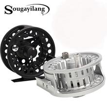 Sougayilang Aluminium Alloy Material Full Metal Body Fly Fishing Reel Ice Fishing Reels Freshwater Fishing Reel Tools Tackle