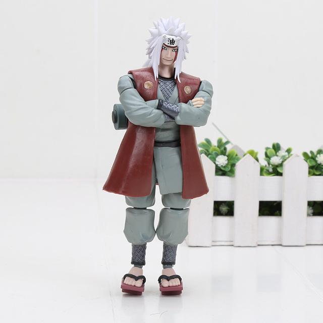 Naruto Uchiha Sasuke Itachi Namikaze Minato Hatake Kakashi Gaara Jiraiya Action Figure