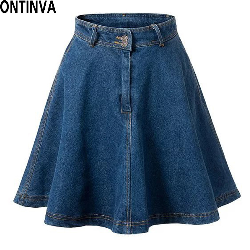 Online Buy Wholesale aline denim skirt from China aline denim ...