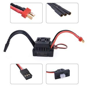 Image 5 - Waterproof F540 3300KV 4370KV Brushless Motor w/ 60A ESC Combo set for Traxxas Axial Redcat HSP 1/10 RC Truck Monster Buggy
