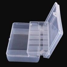 Portable 2 Layer Multifunctional Fishing Lure Bait Hooks Tackle Plastic Box Waterproof Storage Box Case