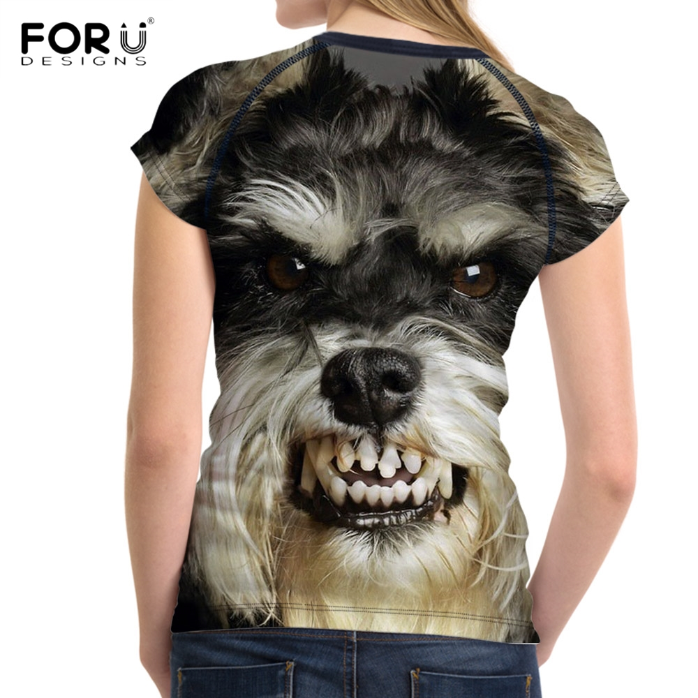 FORUDESIGNS-3D-Animal-Schnauzer-Dog-Print-T-Shirt-Women-Fashion-Fitness-O-neck-Female-Tshirts-Short (1)