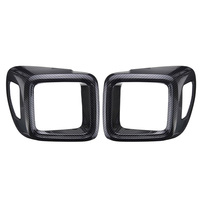 For 15 17 Jeep Renegade Tail Rear Light Lamps Trim Covers