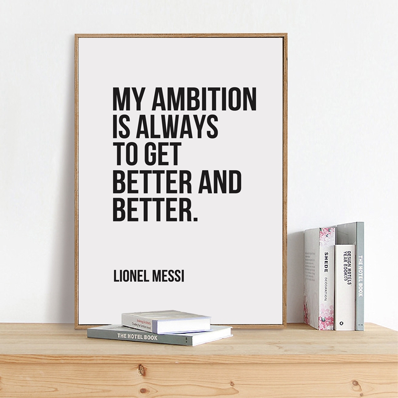 my ambition is
