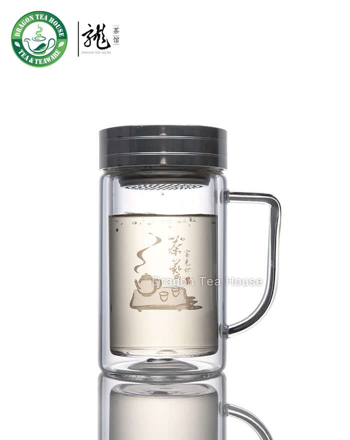 Airtight Double Wall Thermos w/t Filter 320ml 261B 320