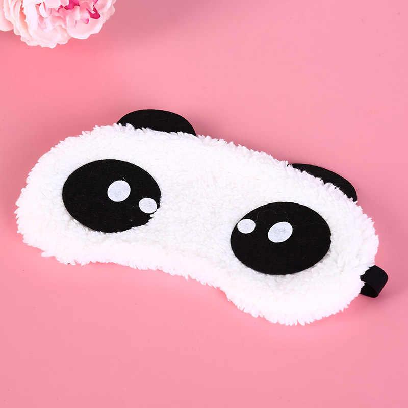 Симпатичная маска для лица белая маска глаза панды тени для век маска для сна повязка на глаза, маска для сна забота о здоровье 3 вида стилей хлопковые очки для сна маска для глаз