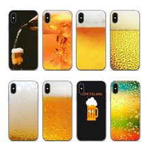 Aiboduo Summer Beer Bubble Bottle For iphone 6s 7 Phone case cover for Apple iPhone 5s 6 6plus 8 7plus 8plus XR X XS max