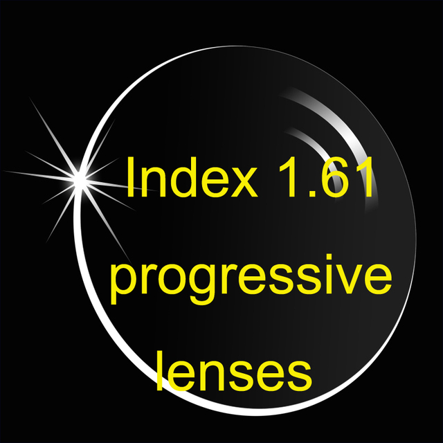 7fb1e849a6b index 1.61 progressive lenses resin lenses multi-focus without line for  myopia or presbyopia prescription