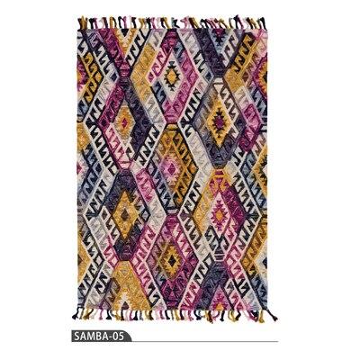 collalily Kilim 100% Cotton handmade Carpet geometric Bohemia Indian ...