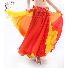 Belly Dance  Maxi  Chiffon Skirts for Dance BellyDancing skirt Q00586