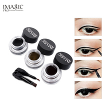 IMAGIC Eyeliner Waterproof Eyeliner Gel Makeup Cosmetic Gel Eye Liner With Brush 24 Hours Long-lasting  Eye Liner Kit недорого