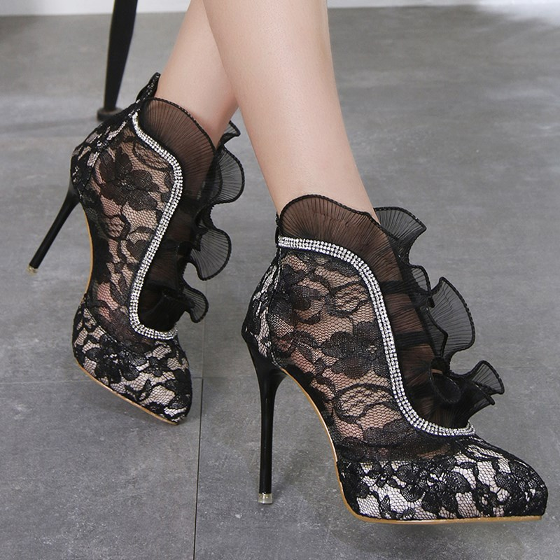 Detail Feedback Questions about DEleventh Ankle boots for women ... d0486488b180