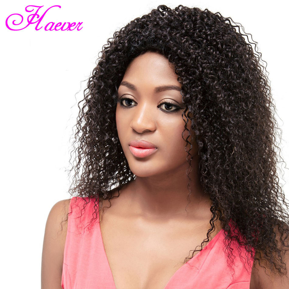 Curly Lace Front Human Hair Wigs For Women Natural Black Brazilian Remy Water Wave Lace Wig Pluck Bleached(China)