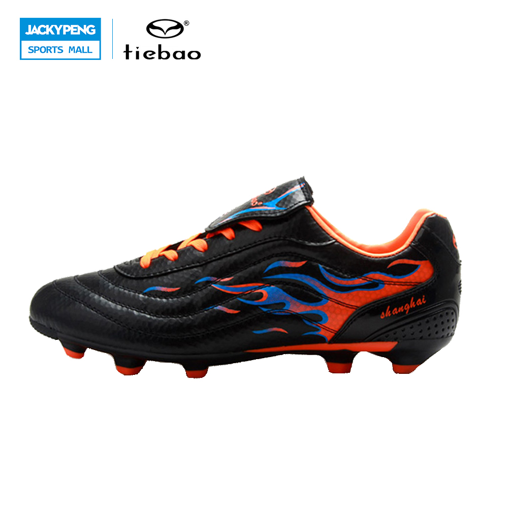 TIEBAO Professional Soccer Shoes FG & HG Soles Soccer Cleats Football Shoes Soccer Men Teenagers Training Football Boots tiebao new men outdoor grass soccer shoes cleats for adults children sports football shoes brand football boots male size 35 44