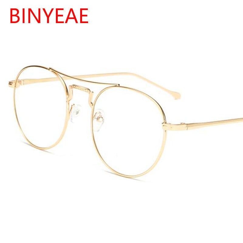 Runde Klar Brille Transparente männer Brillen Rahmen frauen Grad ...