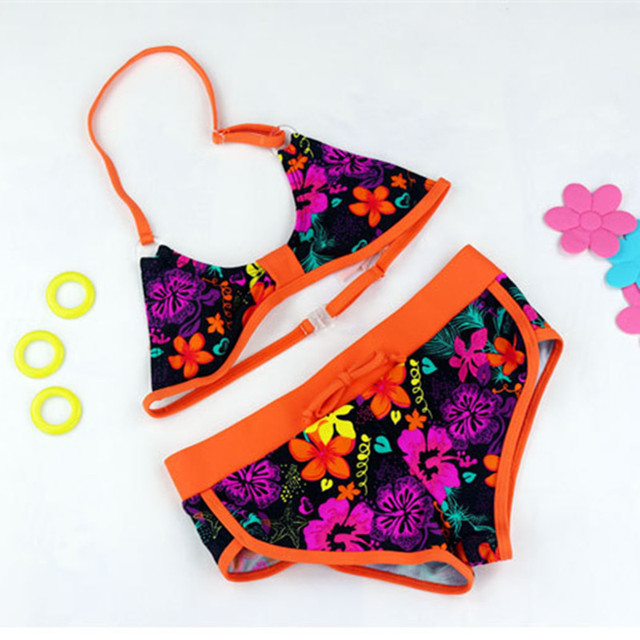 Girls Two-Piece Swimsuit Bikini