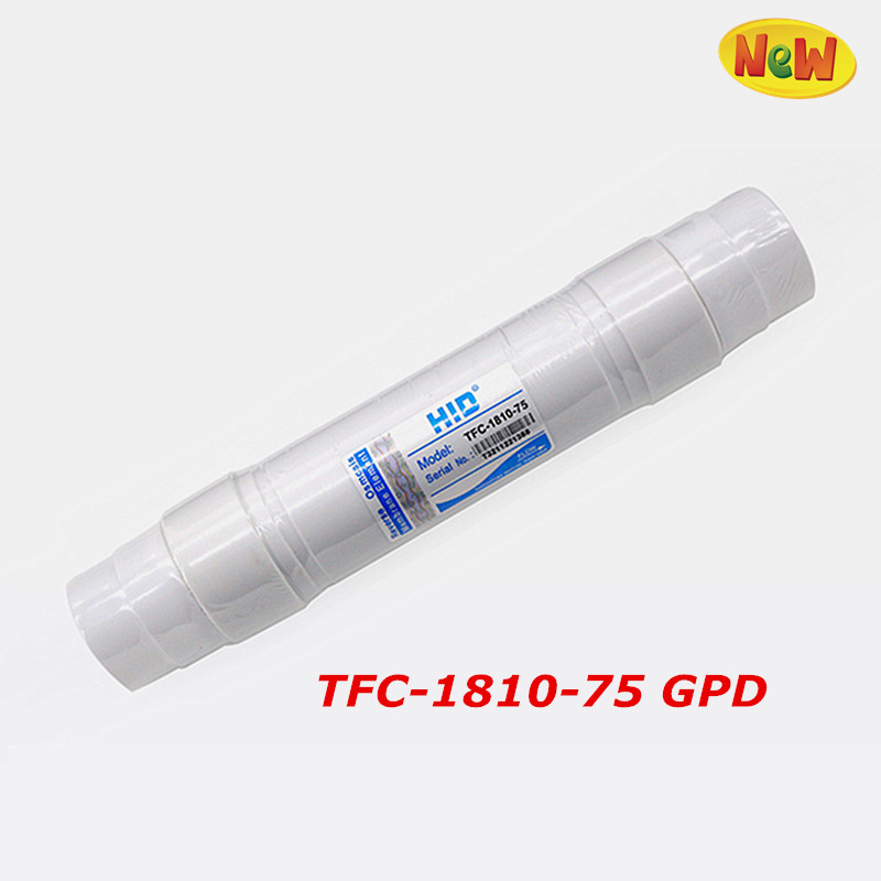 Quick Connect 1812-75 RO membrane 75 GPD Water Purifier Reverse Osmosis Membrane NSF/ANSI Standard 1812 ro membrane shell 50 75 100gpd reverse osmosis household water purifier reverse osmosis system