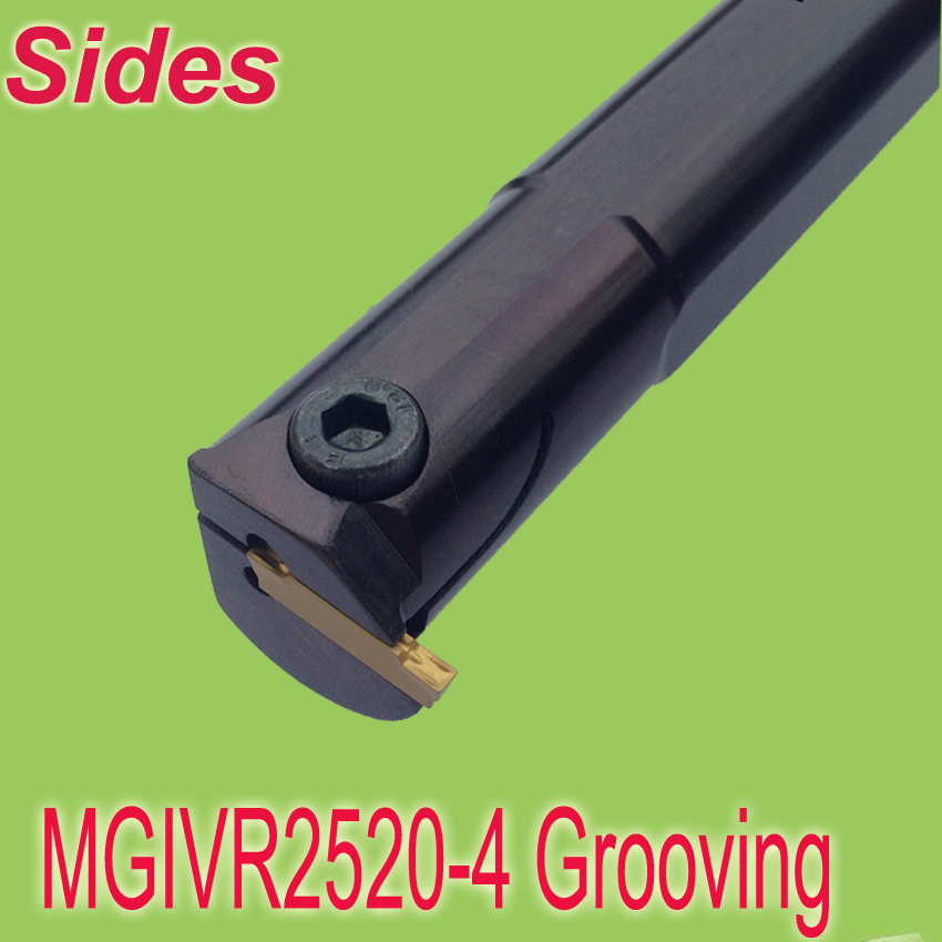 ФОТО MGIVR2520- 4 SHK20mm Cutting Dia 25mm L:150mm Internal Grooving  Turning Tool Holder  For MGMN150 Free Shiping