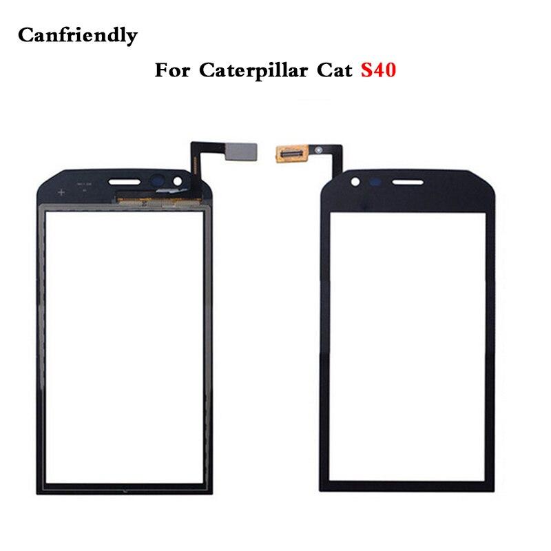 Cat S40 Screen Glass Digitizer Mobile Phone Touch Screen Panel for Caterpillar Cat S40 Cat S50 S50C Touchscreen Sensor Glass