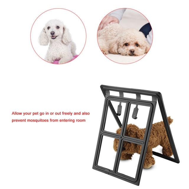 Aliexpress Buy Magic Pet Gate Puppy Cat Door Magnetic Locking