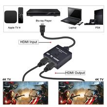 UHD 4K HDMI 2.0 Splitter Switch 2x1 Or 1x2 HDMI Bi-Directional Switcher Box Support HDCP 2.2 Pass Through For PS3, PS4 & HDTV(China)