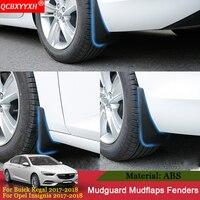 QCBXYYXH Car Mud Flaps Sedan Mudguard Fender Mudflaps Splash Guards Mud Flap For Buick Regal Opel