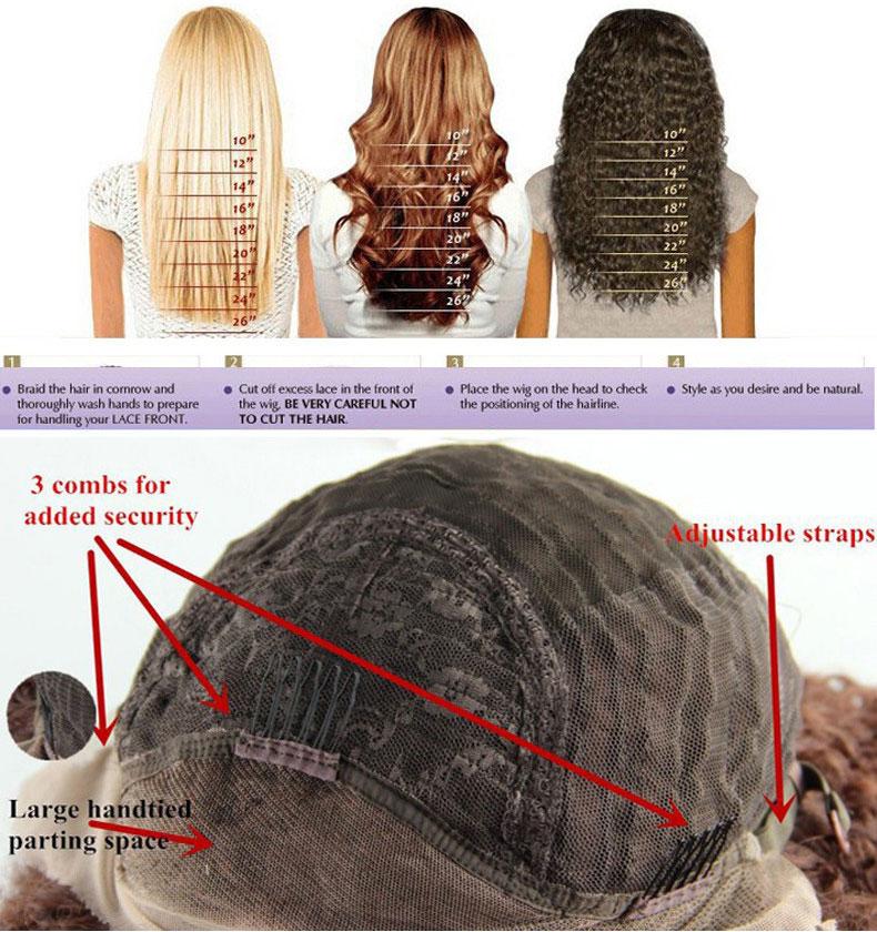 Glueless Long Synthetic Heat Resistant Wigs for Women