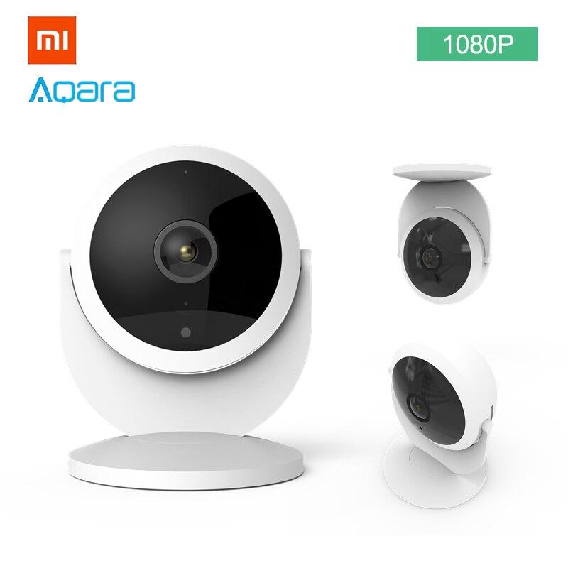 Xiaomi Aqara 1080 p IP Camera 180 Graus Gateway Edição Função Night Vision Visão Remota ZigBee de Armazenamento Em Nuvem para Micro cartão
