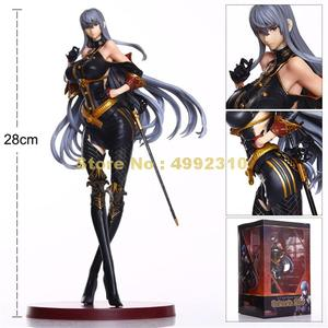 Image 1 - anime valkyria chronicles cosplay selvaria bles pvc action figures model doll 28cm Toy