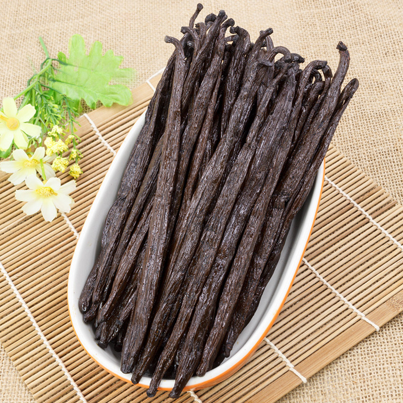 1 Pieces top grade Vanilla beans from Madagascar,High quality Vanilla planifolia,free shipping high quality 5 string banjo top grade exquisite professional wood metal fast free shipping