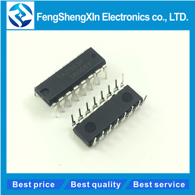 US $5 99 5% OFF|50pcs/lot New TA2003 TA2003P DIP 16 AM/FM RADIO IC Chip -in  Integrated Circuits from Electronic Components & Supplies on