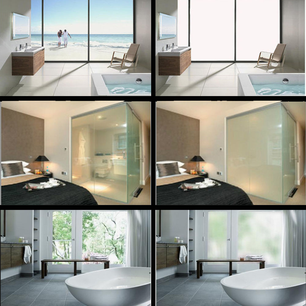PDLC Commutable Smart Film pour écran de projection arrière film alimentation décoration de bureau à domicile qualité supérieure Meilleure Vente