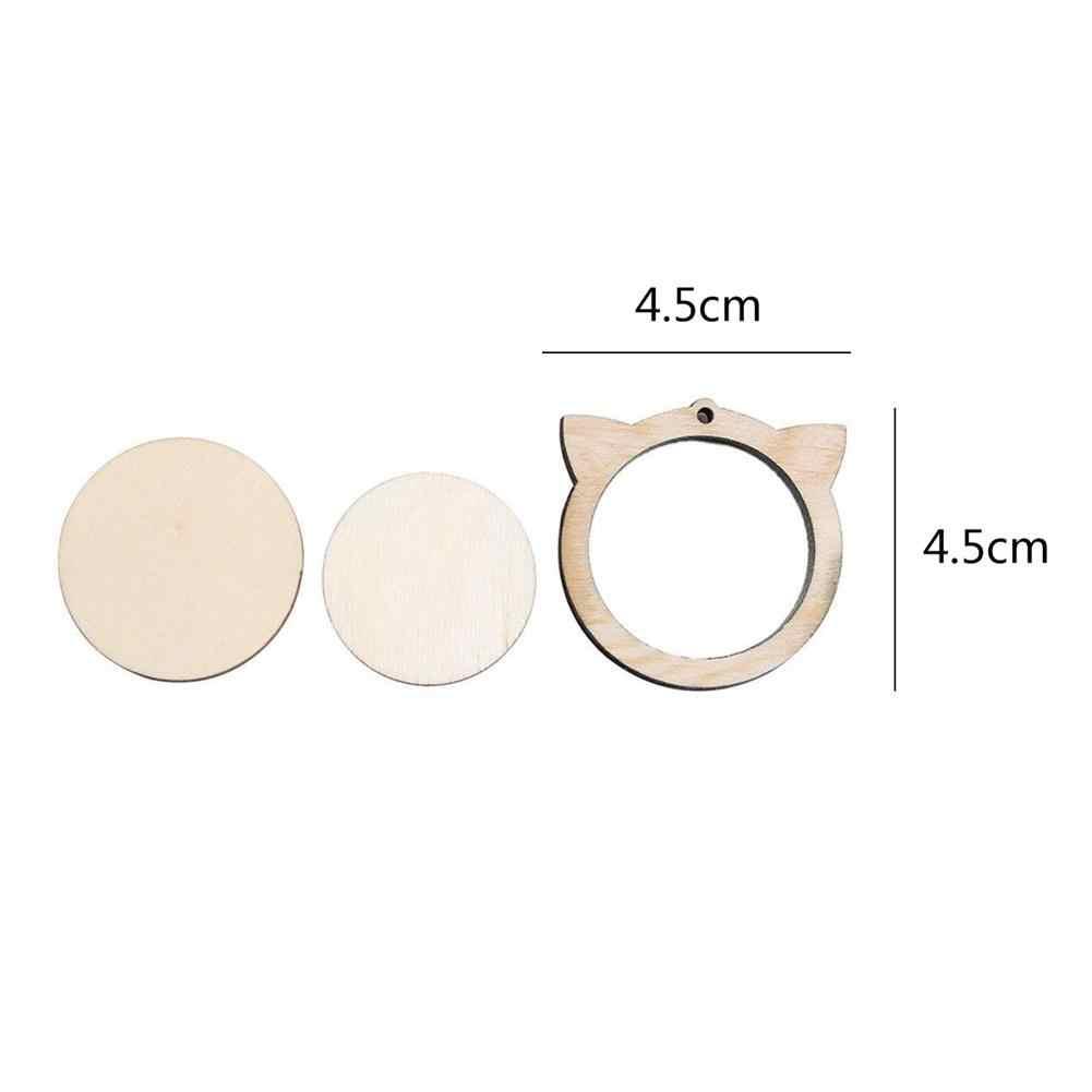 Quadro fixo de bordado, ponto cruz diy, costura, artesanato, mini ferramenta de costura, aro/anel