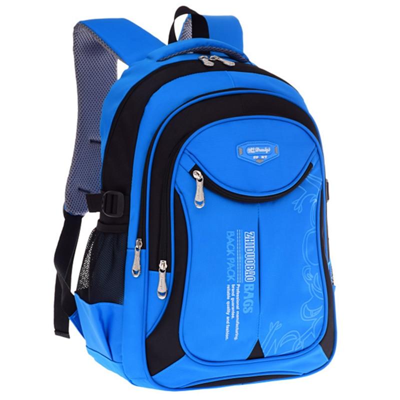 2018 hot new children school bags for teenagers boys girls big capacity  school backpack waterproof satchel kids book bag mochila 9c4dd24153f2d