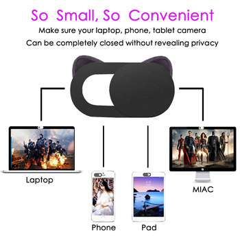Orsda Webcam Cover Universal Phone Laptop Camera Cover Cache Slider Magnet Web Cam Cover for iPad PC Macbook Sticker iphone 1